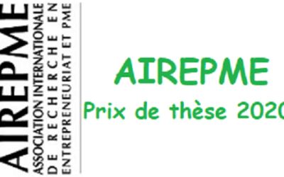 Prix de thèse AIREPME 2020